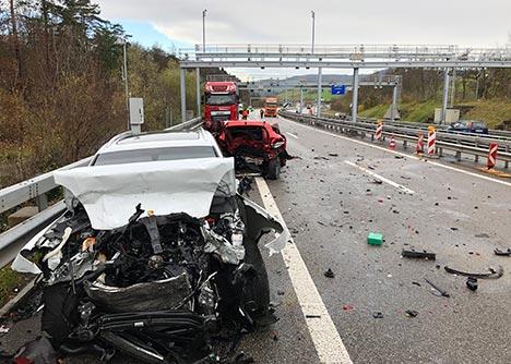Autobahn A3 Unfall Heute